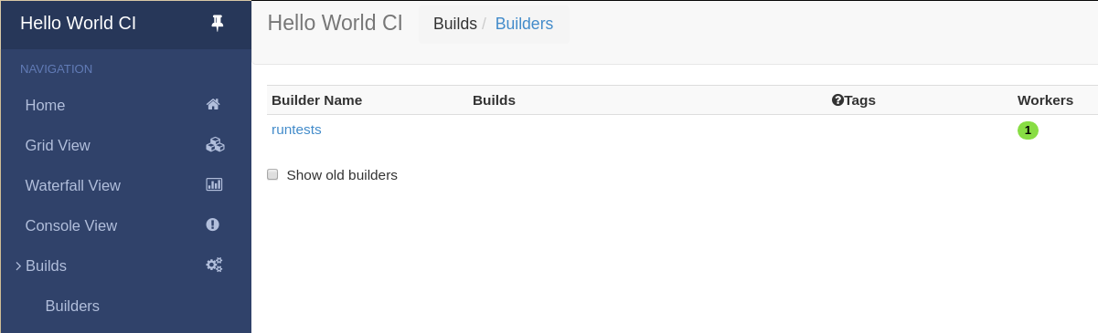 1 2  First Buildbot run with Docker — Buildbot 2 4 1-dev27